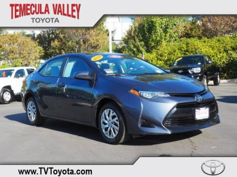 Certified Pre-Owned 2018 Toyota Corolla LE FWD 4D Sedan