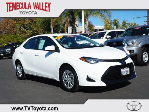 Certified Pre-Owned 2019 Toyota Corolla LE FWD 4D Sedan